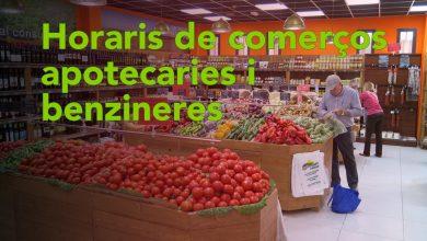 Photo of Horaris de comerços, apotecaries i benzineres