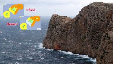 Photo of Alerta taronja al nord-est de Mallorca per la borrasca Bernardo