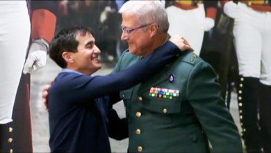 Photo of Alberto Encinas es mostra feliç de tornar tenir Olivia a casa