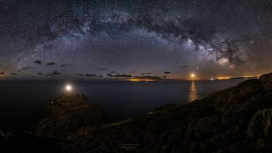 Photo of Així es veu la imponent Via Làctia des de Formentor
