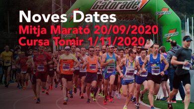 Photo of La mitja marató i la cursa Tomir tenen nova data
