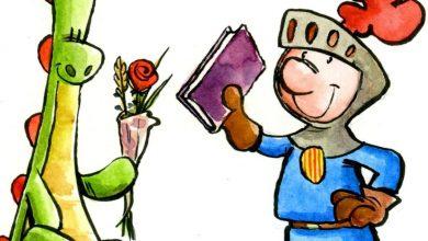 Photo of Cavallers, princeses, dracs, roses i llibres per Sant Jordi