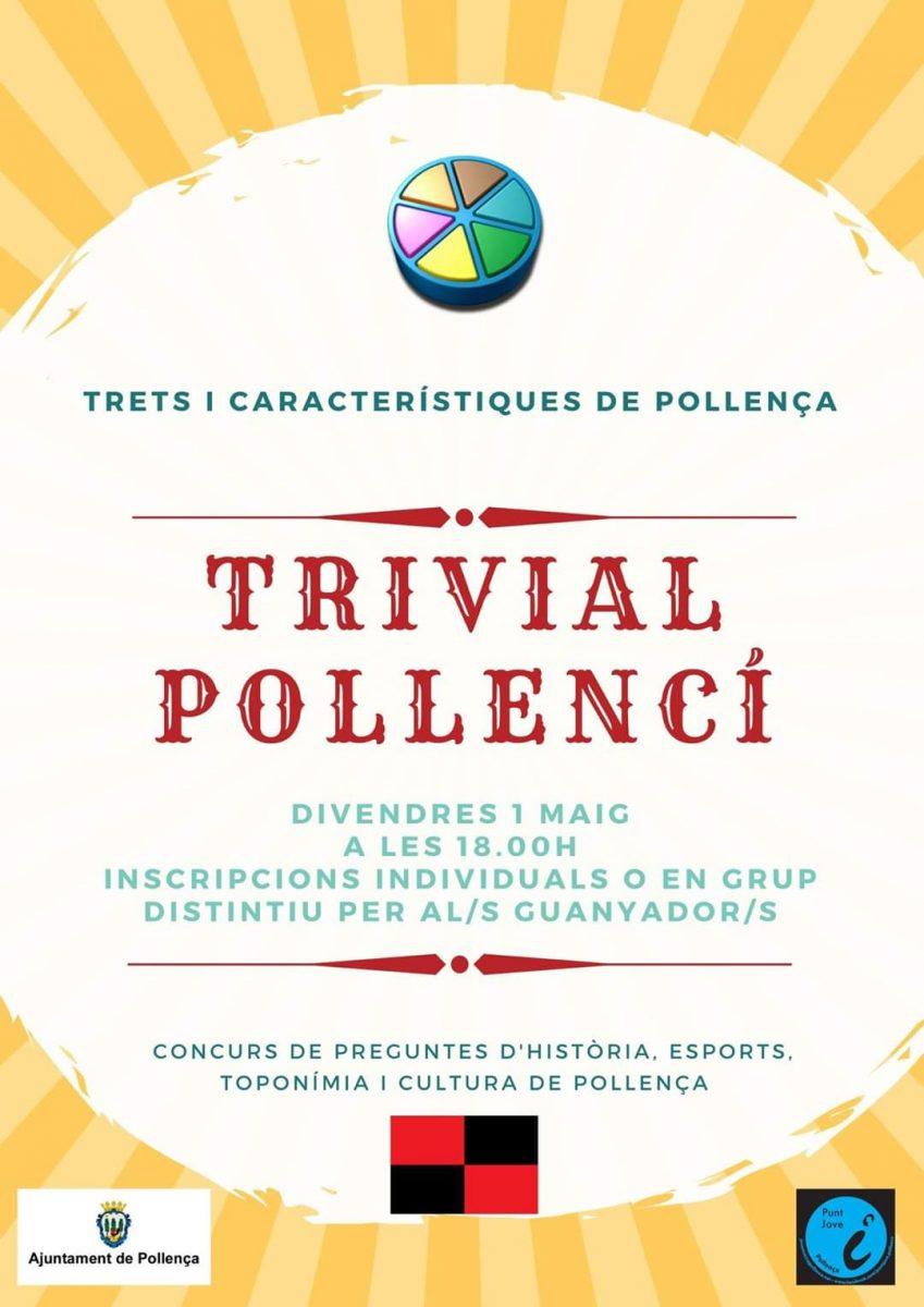 Cartell promocional del Trivial Pollencí