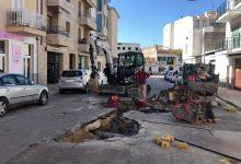 Photo of El carrer Vicenç Buades, tallat per obres de millora