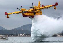 Photo of Els hidroavions del Grup 43 arriben a la base el dia 1