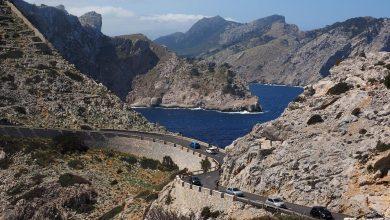 Photo of Obres de manteniment a la carretera de Formentor