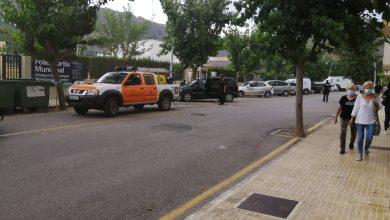 Photo of Ensurt al Moll per un cotxe que desprenia fum
