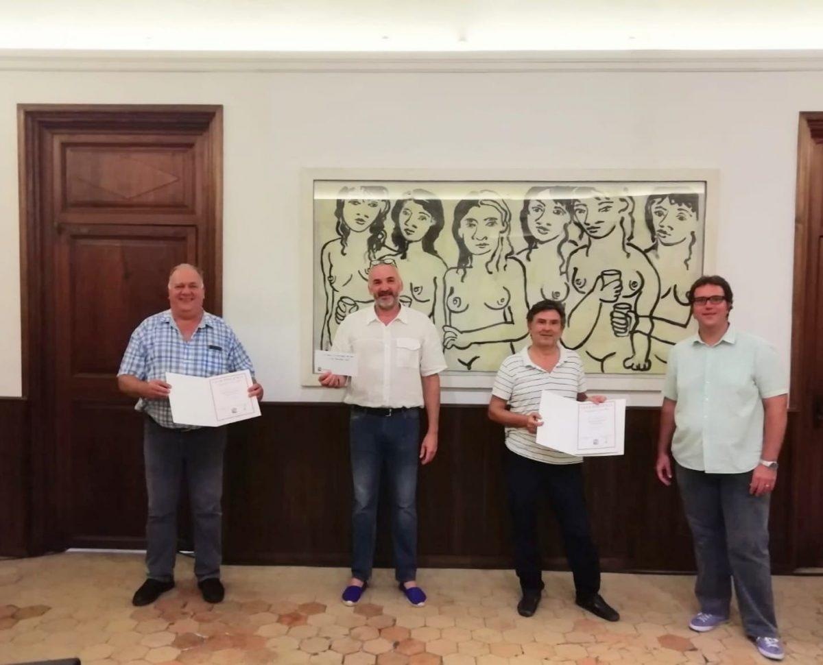 Miquel Tries i Felip Garau, guanyadors del Campionat de Truc