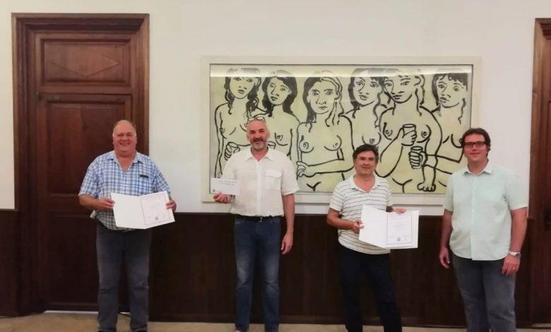 Photo of Miquel Trias i Felip Grau guanyen el Campionat de Truc