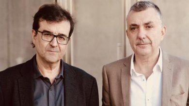 Photo of Manuel Vilas i Javier Cercas, els protagonistes de la conferència d'avui al Claustre