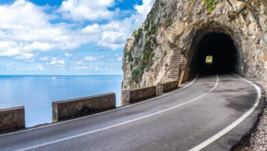 Photo of Iniciades les obres lumíniques del túnel de Formentor