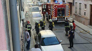 Photo of S'incendia una fusteria del carrer Formentor